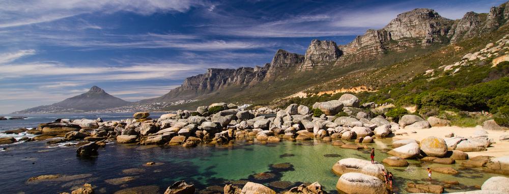 Cape Town coastline by Jonathan Caramanus