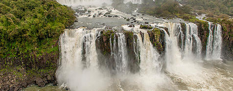 Iguazu Falls by Larry Jackson - Argentina & Chile Luxury Wildlife Safari Tours - Bellingham Safaris