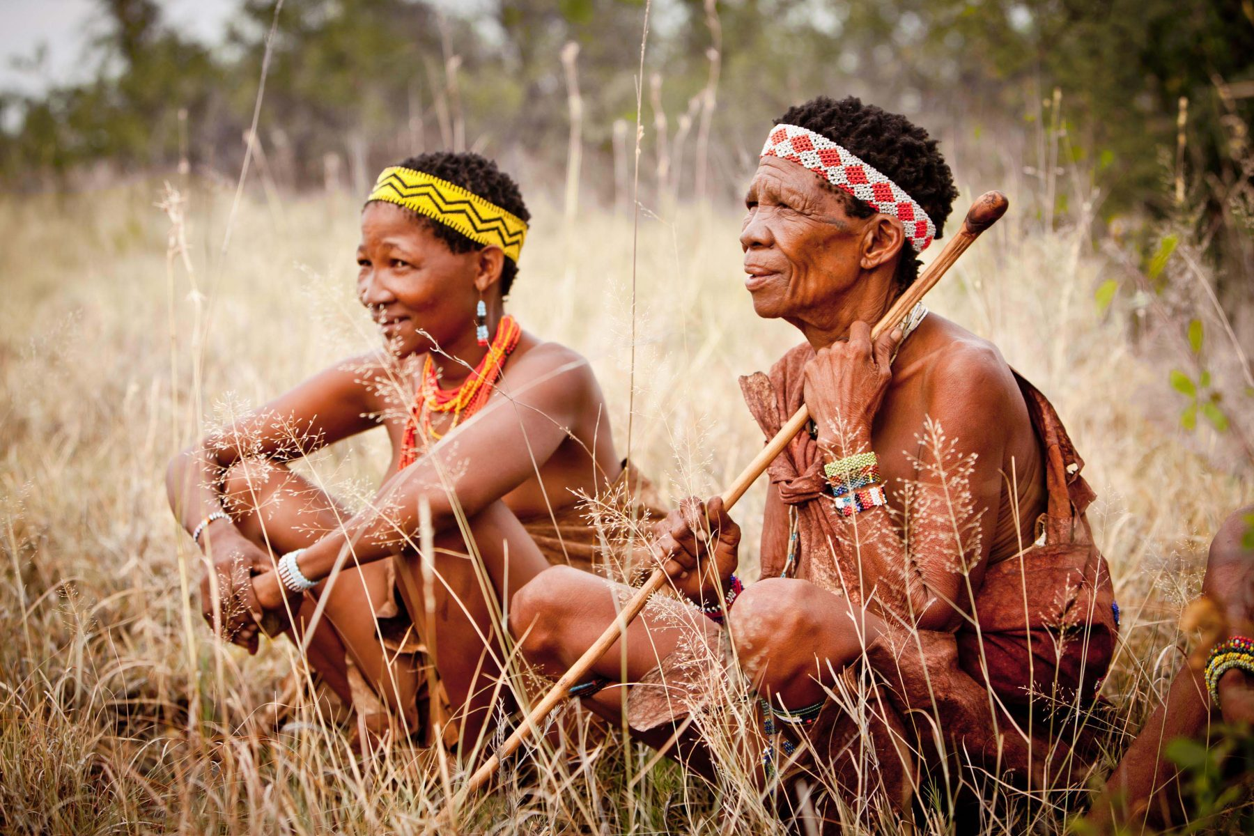 San people of botswana masturbates