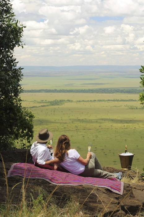 Angama Mara's Out of Africa picnic