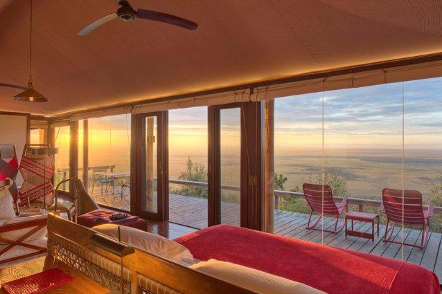 Angama Mara's Tented Suite
