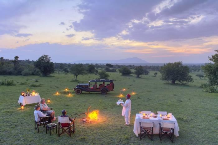 Cottar's 1920's - Bush dinner - Kenya