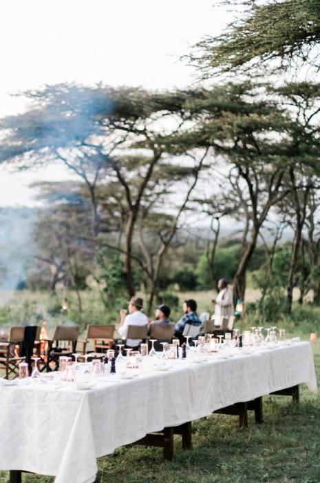 Cottar's 1920's - Sundowners and a Bush Dinner - Kenya