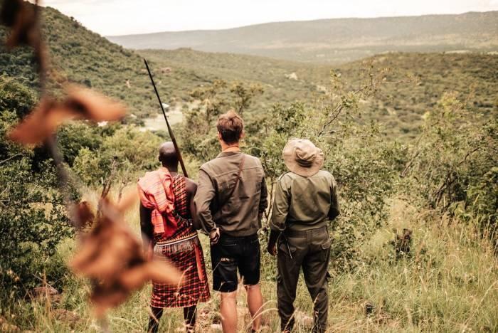 Cottar's 1920's - Walking safaris - Kenya