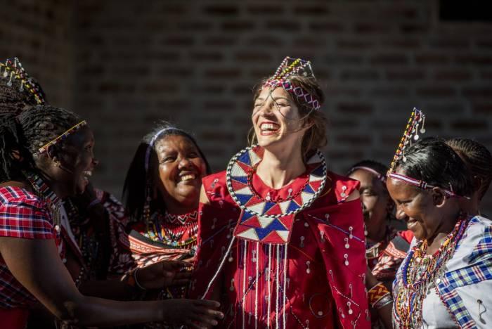 Maasasi Blessings at Angama Mara
