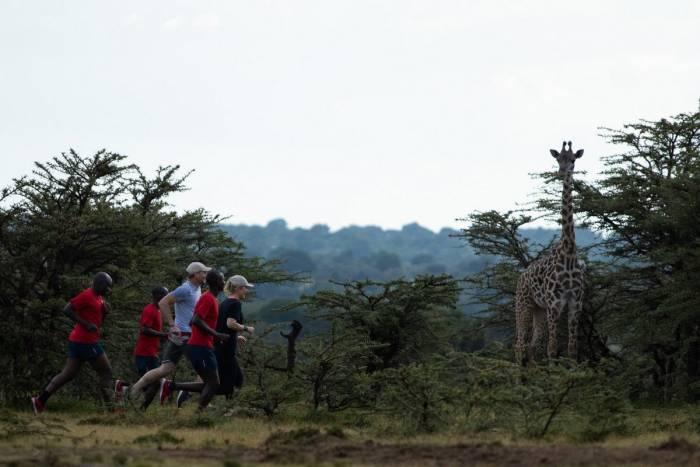 Run with a Kenyan at Angama Mara