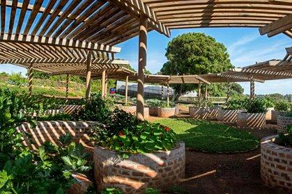 Kalabash Garden at Angama Lodge in Maasai Mara.