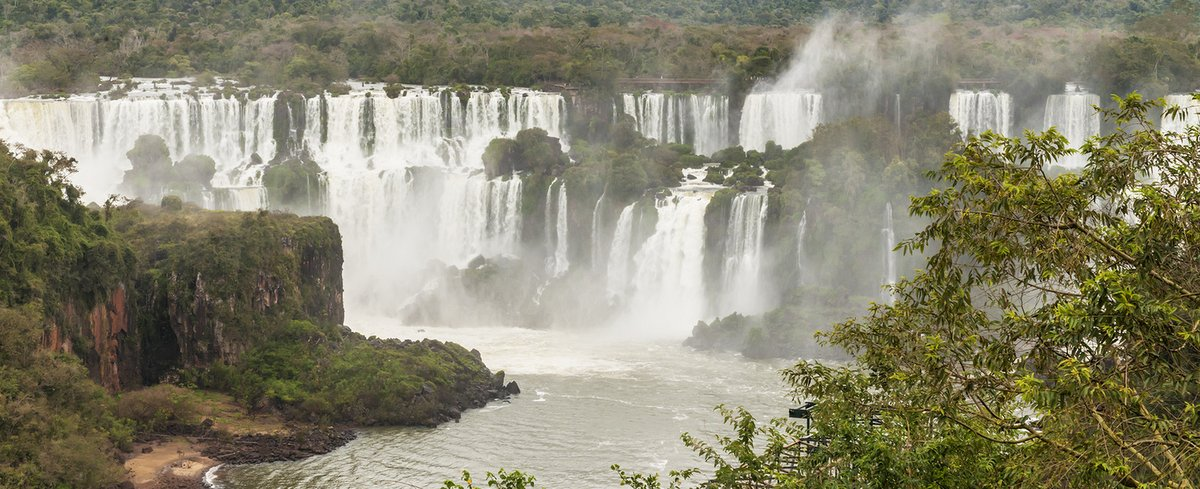Iguazú Falls by Larry Jackson - Argentina & Chile Luxury Wildlife Safari Tours - Bellingham Safaris